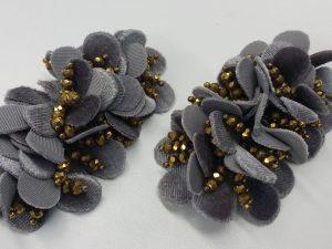 ハンドメイド お花のシューズクリップ 制作キット 簡単 パンプス 靴 パーツ 前飾り オリジナル 販売 通販は株式会社丸上