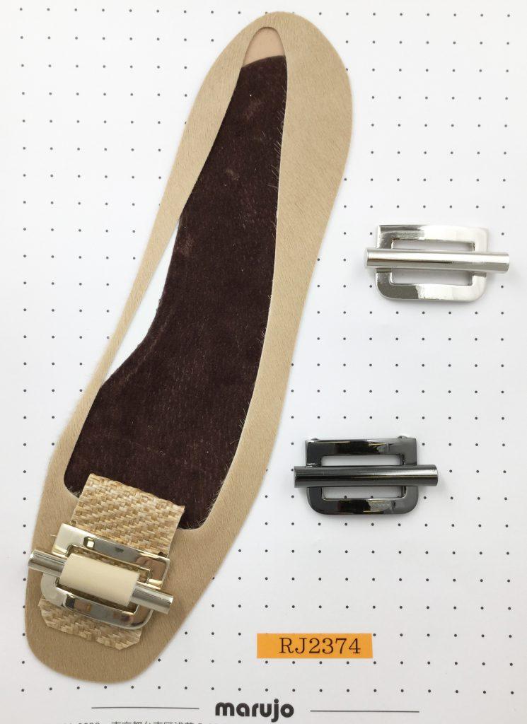 パンプス 靴 パーツ 前飾り アクセサリー 金属 メッキ オリジナル 製作なら株式会社丸上