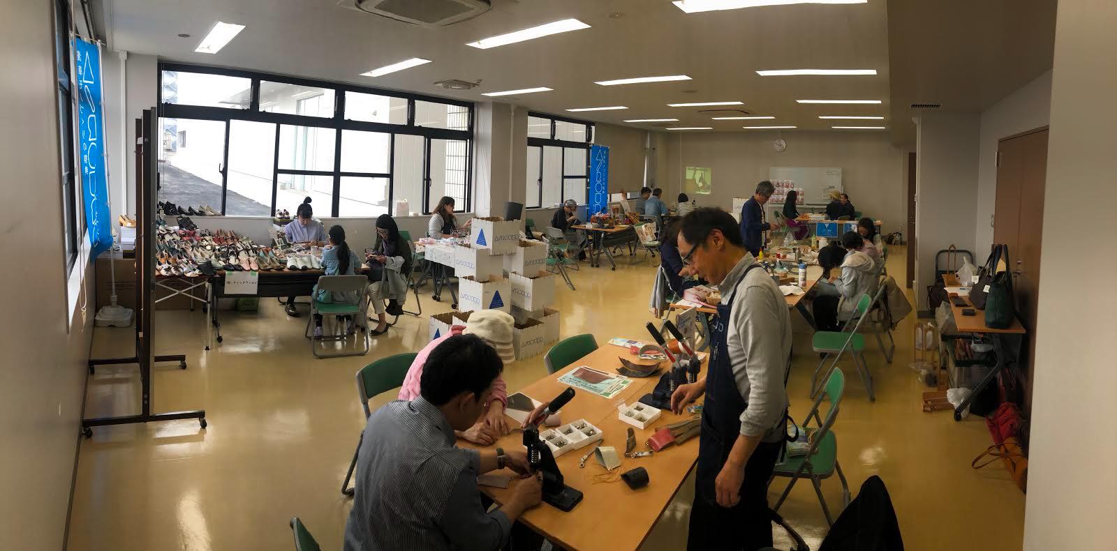 A–ROUND 2019 SPRING 浅草 ワークショップ カップホルダー 株式会社丸上
