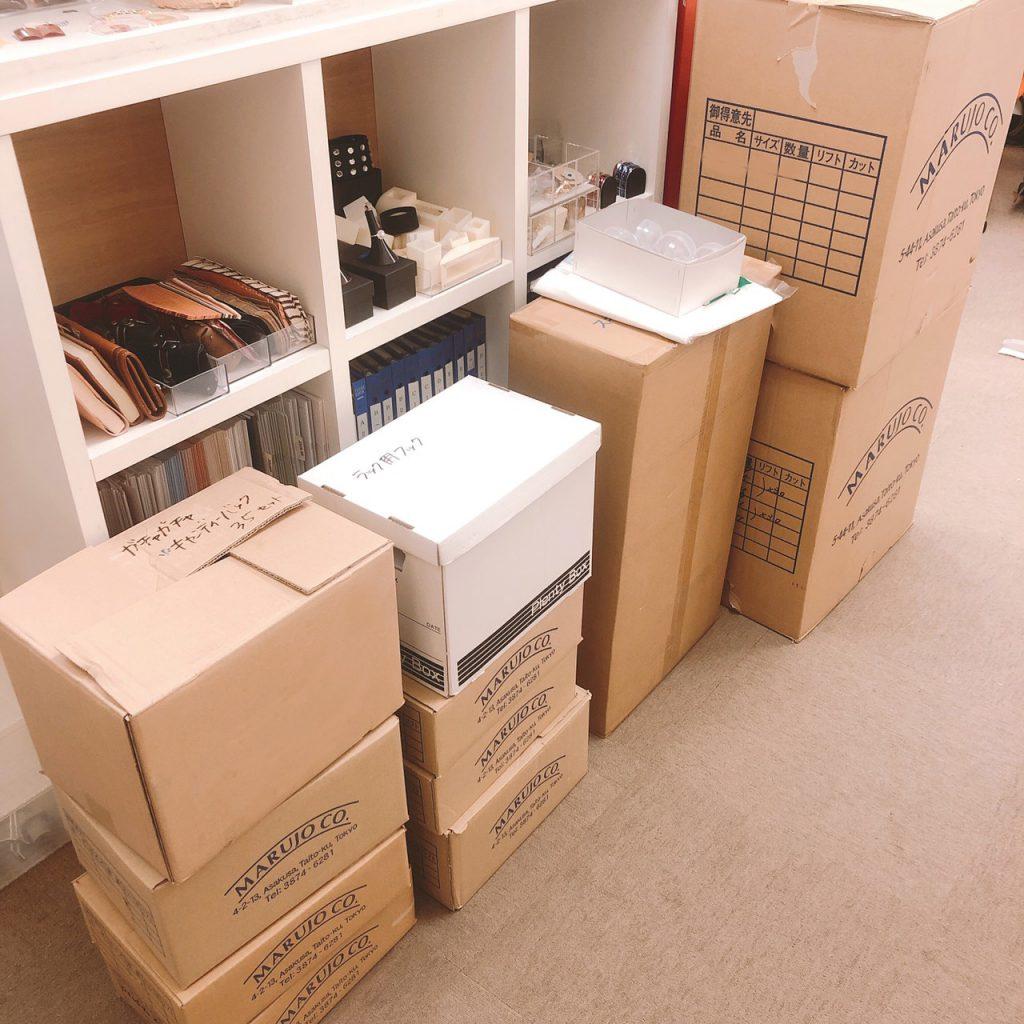 ホビーショー 2019 出店準備中 株式会社丸上